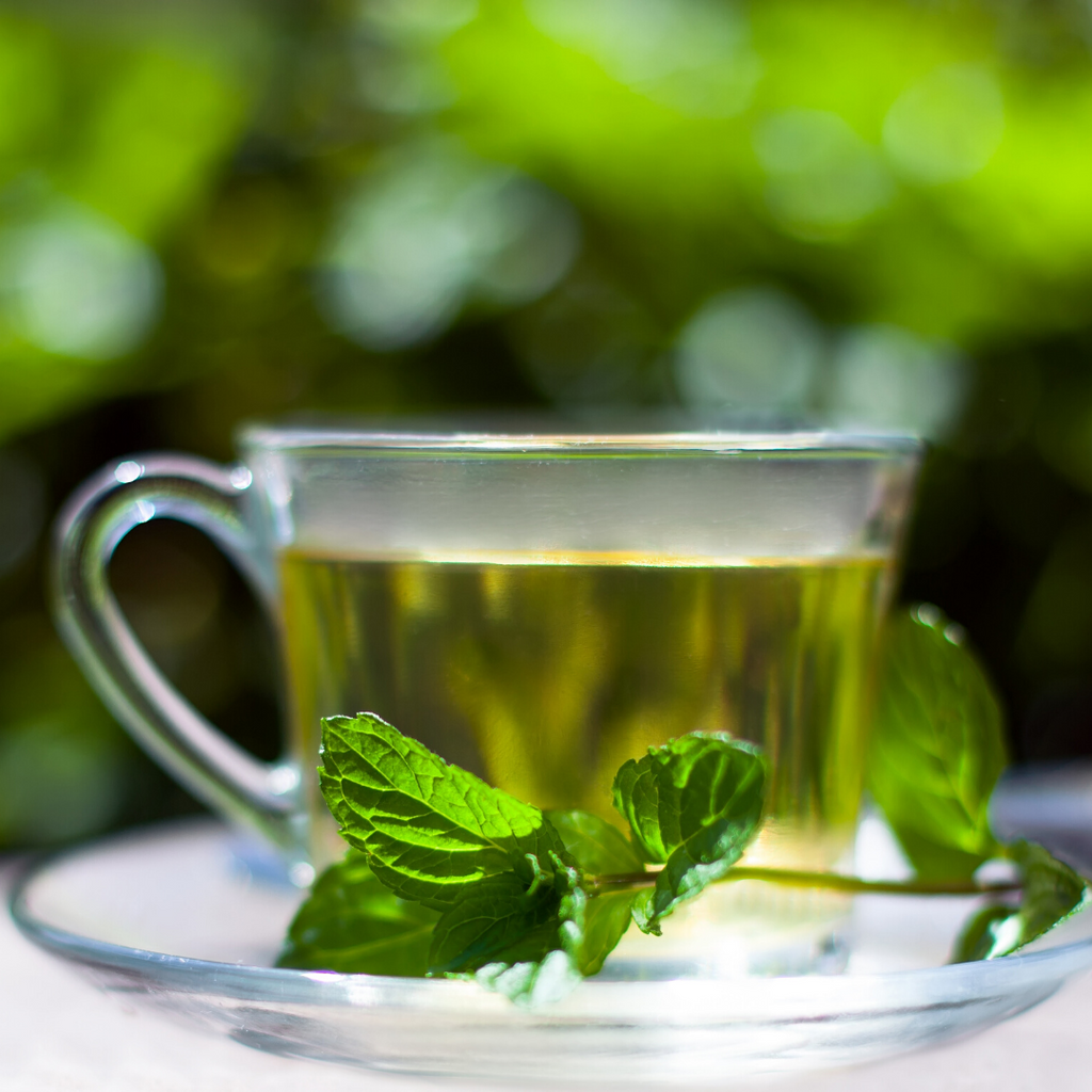 Organic Mint Green tea