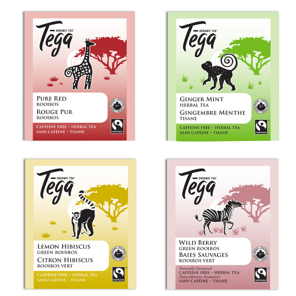 Free Tega Tea sampler