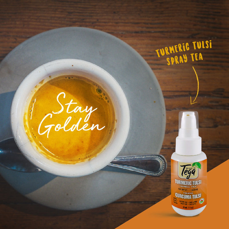 Organic Turmeric Ginger Concentrate 30ml / 40+ servings