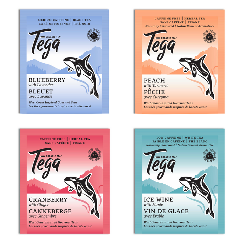 Organic West Coast Teas Sampler