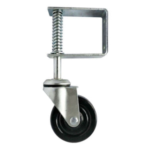 HYW Spring Loaded Gate Caster, 4-Inch 1 PK
