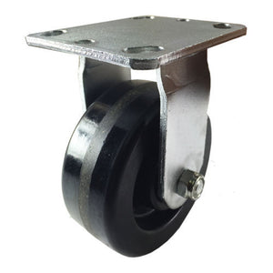 "5"" x 2"" Heavy Duty ""Phenolic"" Caster - Rigid"