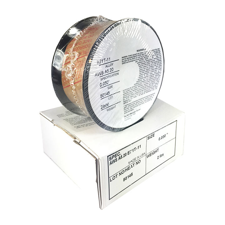 5 x 2lb .030 E71T-11 Flux Cored Gasless Weld Wire 5 Rolls – HYW PRODUCTS