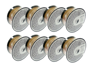 8 x 2lb .030 E71T-GS Flux Cored Gasless Weld Wire 8 Rolls