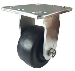 "4"" x 2"" Heavy Duty Plastic Caster - Rigid"
