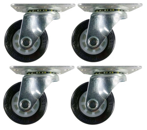 "2"" Polyurethane Wheel Caster - 4 Swivels"