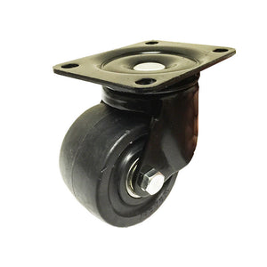 "3""  Machine Swivel Plate Caster Nylon Wheel 550 lbs Capacity"