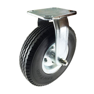 "8"" x 2-1/2"" Flat free Wheel Caster - Rigid"