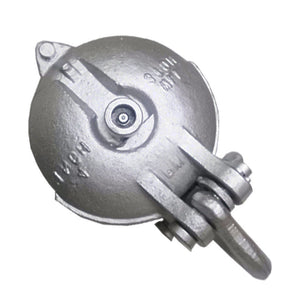 Snatch Block, Yarding Block Wire rope cable pulley for 1-1/2 Tons - 3""