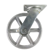 "10"" x 2-1/2"" Steel Wheel Caster - Swivel"