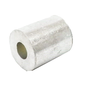 100ea Aluminum Stops for Wire Rope 1/8""