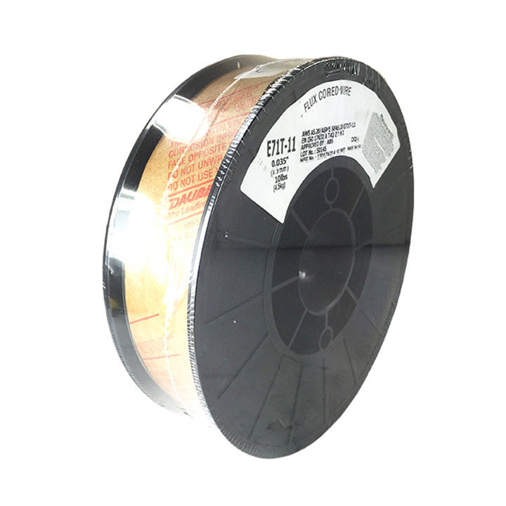 E71T-GS .030 .035 10 lb Roll Gasless Flux Cored Wire USA Made