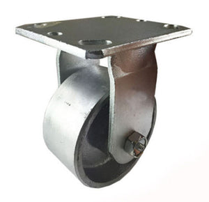 "4"" x 2""  Steel Wheel Caster - Rigid"
