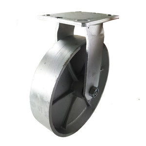 "8"" x 2"" Heavy Duty ""Steel Wheel"" Caster -  Rigid"