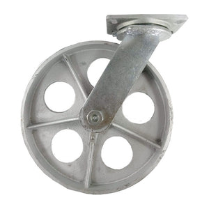 "12"" x 2-1/2"" Steel Wheel Caster - Swivel"