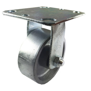 "4"" x 1-1/2""  Steel Wheel Caster - Rigid"