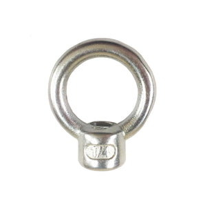 "T316 Stainless Steel Lifting Eye Nut 1/4"" UNC"