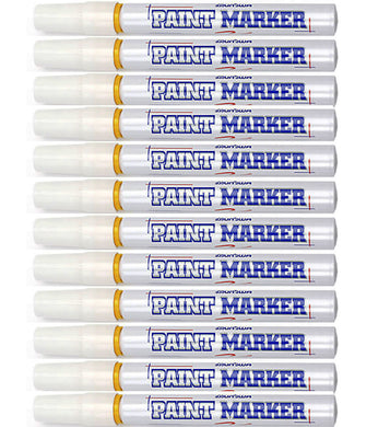 Industrial Paint Marker - White (1 lot is 12)