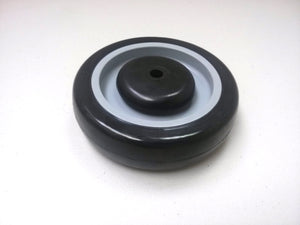 "5"" x 1-1/4"" Polyurethane Shopping Cart Wheel (3/8"") - 10 EA"