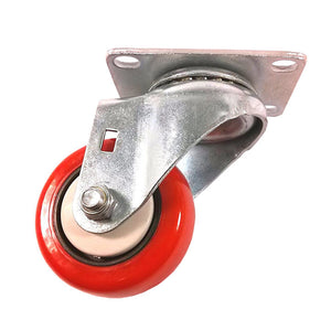 "3"" x 1-1/4"" Polyurethane with Thread Guard Caster (A1) - 1 Swivel"