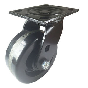 "5"" x  2""  Heavy Duty  ""Phenolic"" Caster - Swivel (Black)"