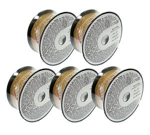 5 x 2lb .035 E71T-GS Flux Cored Gasless Weld Wire 5 Rolls