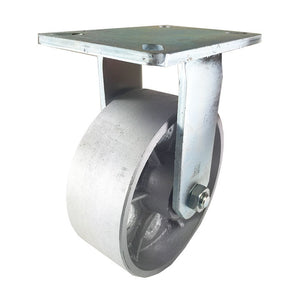 "8"" x 3"" Heavy Duty ""Steel Wheel"" Caster - Rigid"