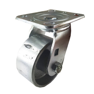 "4"" x 2""  Steel Wheel Caster - Swivel"