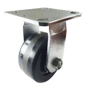 "4"" x 2"" Heavy Duty ""Phenolic wheel"" Caster - Rigid"