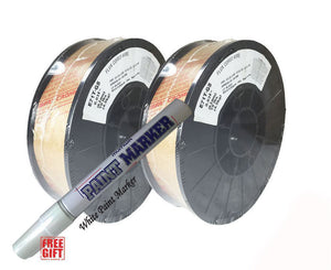 .030 E71T-GS Flux Cored Gasless Welding Wire 2 x 10 lb - USA MADE