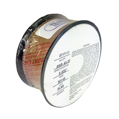 2lb .035 E71T-11 Flux Cored Gasless Steel Mig Weld Wire