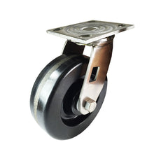 "6"" x  2""  Heavy Duty Stainless Steel  ""Phenolic"" Caster - Swivel"