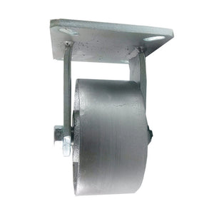 "6"" x 3"" Heavy Duty ""Steel Wheel"" Caster - Rigid"