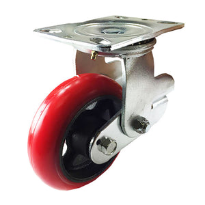 "8"" x 2"" Shock Absorbing Caster - Swivel"