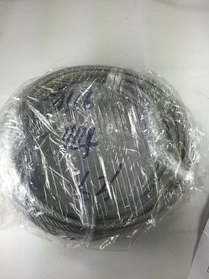 Special  Price 7x19 Clear PVC Galvanized Aircraft Cable Rope 3/16 to 1/4