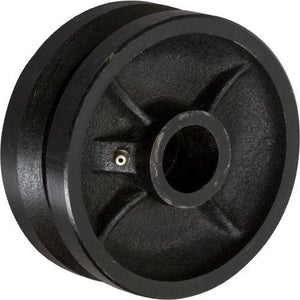 "6"" x 2"" V-Groove Wheel with Bearing - 1 EA"