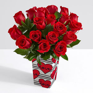 Fresh Red Roses - Farm Fresh Red Roses