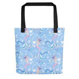 Mermaid Dream All Over Tote Bag - LDS