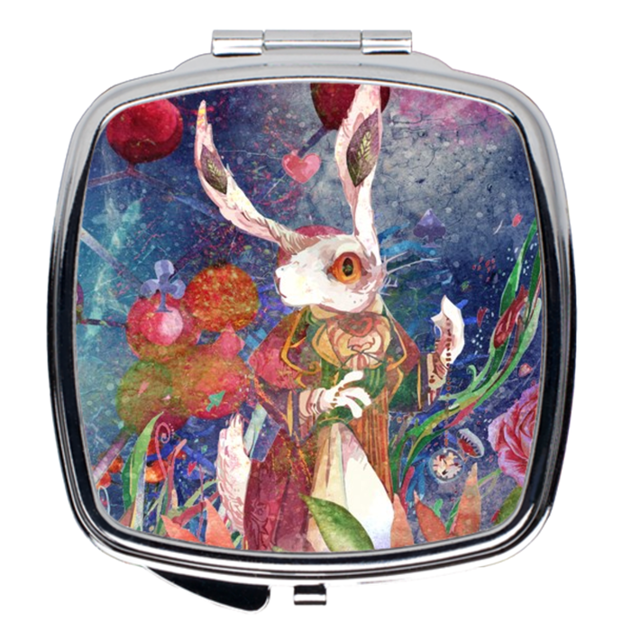 White Rabbit Compact Mirrors - LDS