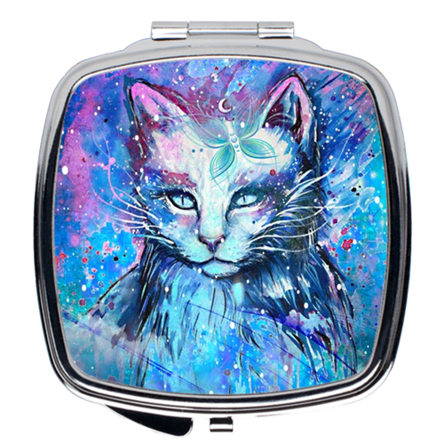 Mystic Cat Compact Mirrors - LDS