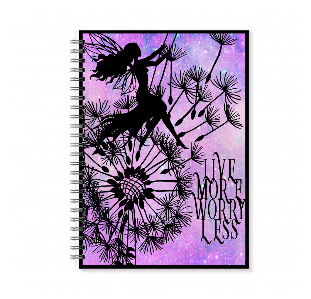 Live More Worry Less Notebook - LDS
