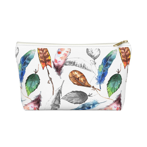 Feather Accessory Pouch w T-bottom - LDS