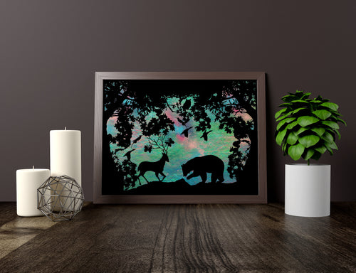 Woodland Art Print - LDS