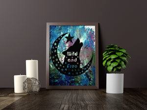 Wild And Free Handcut Papercut - LDS