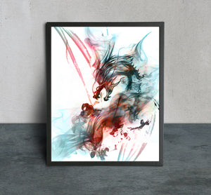 The Dragon Art Print - LDS