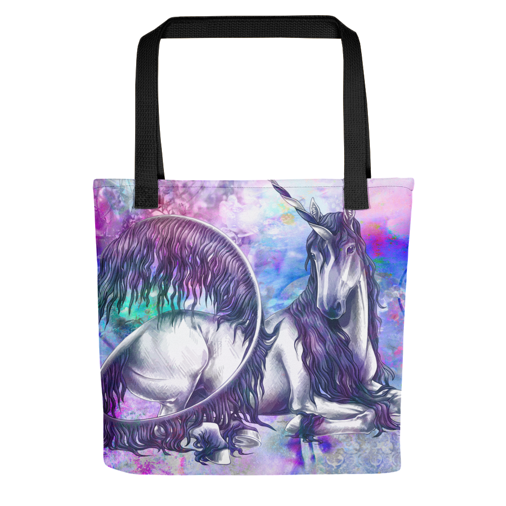 Unicorn All Over Tote Bag - LDS