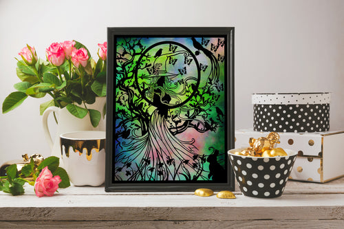Spring Witch Art Print - LDS