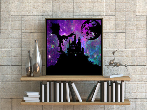 Dragon Castle Art Print - LDS