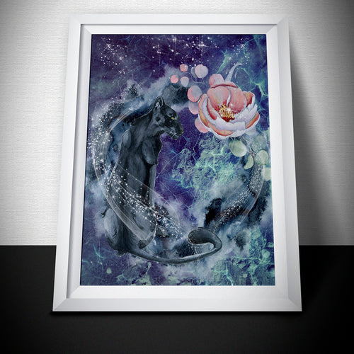 Black Panther Art Print - LDS