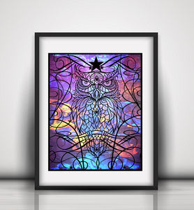 Watcher of the Dark Limited Edition Art Print - LDS